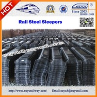 Railway Anti Corrosion Steel And Wooden Sleepers Prices