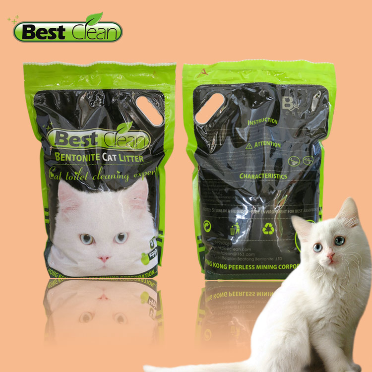 Toilet bentonite Kitty sand with Original Ordor