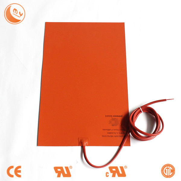 silicon heating mat customized solar powered heater insulation silicone rubber heater