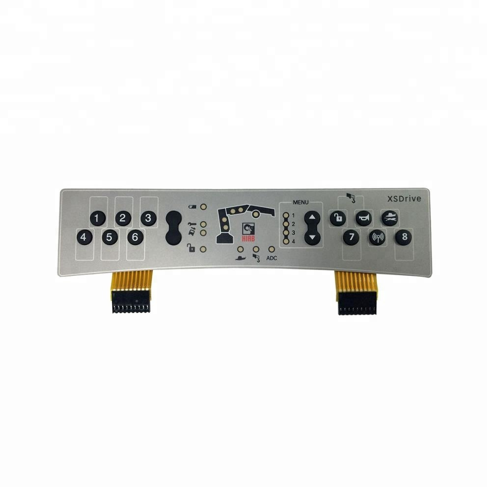 Membrane Keypad With Fpc Suppliers And Tactile Waterproof Metal Dome Switch Pcb Circuit Board Manufacturers At