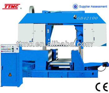 (GB-42100) Semi CNC Double Column Horizontal Band Saw