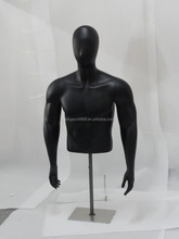 Half body man mannequin/upper body male mannequin