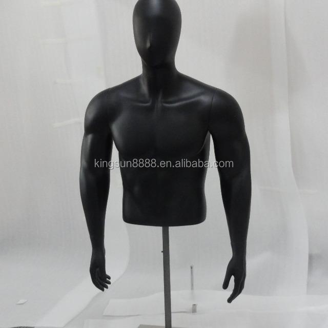 Half body man mannequin/upper body male mannequin