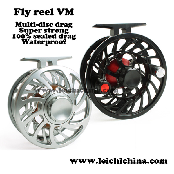 in stock VM 6061 aluminium wholesale waterproof fly reels leichi