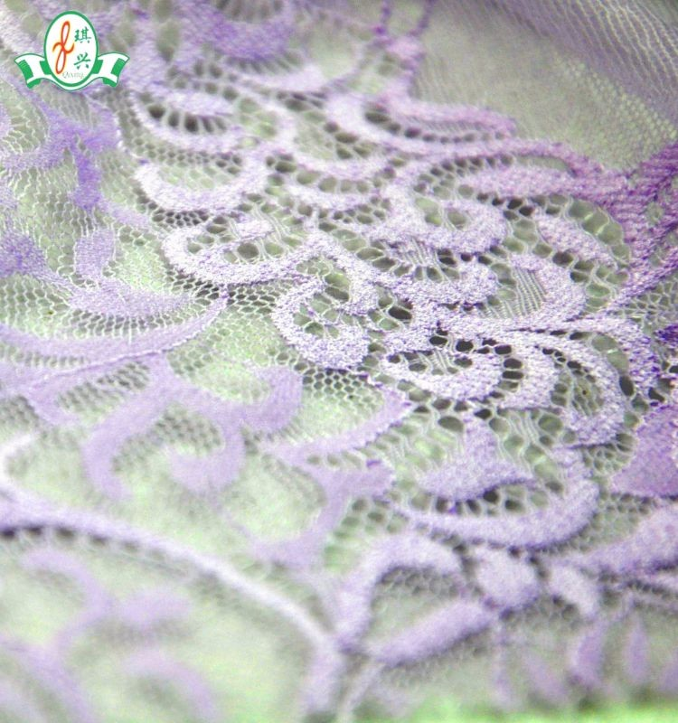Wholesell manufacture polyester underwear wedding dress lace fabric