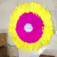 PM-148 The large Christian performing dance ostrich feather fan