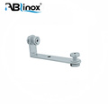 High quality 316 SUS steel glass shelf bracket, glass holder clamps for glass