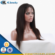 Wholesale natural virgin human hair full lace wigs in manila in stock
