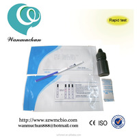 2015 hot sale manufacturer HCV HBV Test kits/Medical Diagnostic Rapid Test Device HCV with CE approved in best price