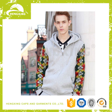 Mens Plain 100% Polyester Sublimation Printed Hoodie