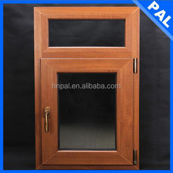 German style Home used round top casement window With wooden film