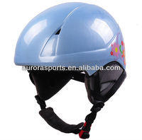 warm and soft pads snow helmet, protect ski helmet with custom colors
