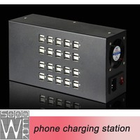 Multi desktop dock charger cell phone charger 12 volt battery charger