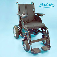 Showgood Economical aluminum lightweight remote wheelchair