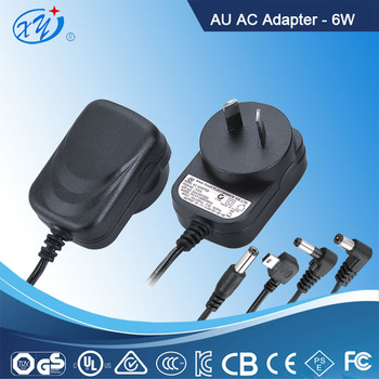 6W 12V Australia LED driver AC Adapter Switching Power Supply with GS CE