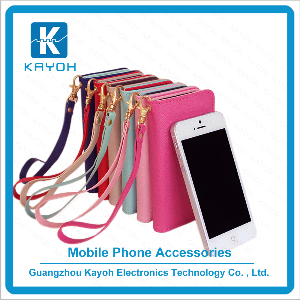 [kayoh]Pu Wallet phone Filp Case With Screen Protector For samsung covers For iphone