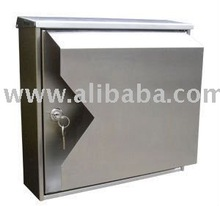 Stainless Steel Crystal Designer Mailboxes