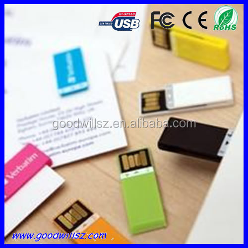 Promotional gift cheap new plastic 4 gb usb flash drive free sample