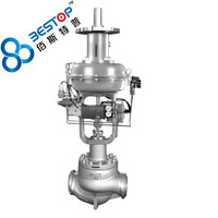 high pressure low noise cage type control valve