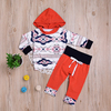 Wholesale Newborn Baby Clothes Long Sleeve Boy Clothing Set With Hat