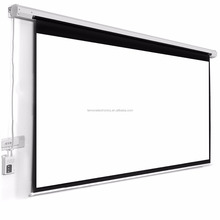 "Homegear 120"" motorized 16:9 projector screen 1080P ,electric projection screen with remote control"
