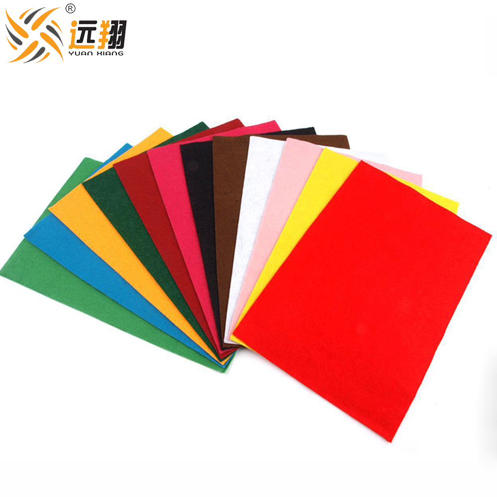 Promotional top quality cheapest nonwoven polyester felts