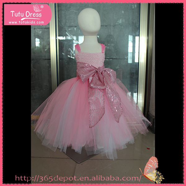 Handmade baby dress one piece child girls party dresses