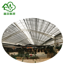 Hot sale wide range multi span greenhouses for the agriculture production