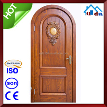 2 Way Swing New Design Wooden Solid Teak Door For Bedroom