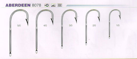 High Quality Wholesale Aberdeen Fishing Hook