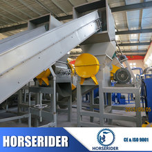 high output plastic recycling plant