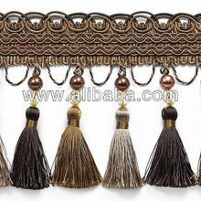 beaded fringe wholesale curtain trimming hanging beaded curtains