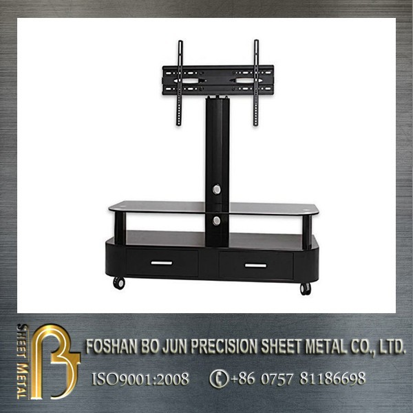 Alibaba de china de fabricación de metal de encargo tv stands, De metal del gabinete tv