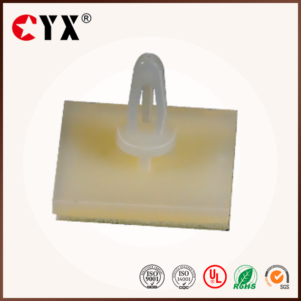self-dhesive 3M glue Plastic PCB spacer support with ROHS
