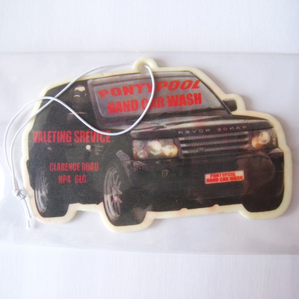 China Manufacturer Scent Paper Auto Air Freshener