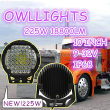 Recommend model!Competitive price! XTE XPG auto parts 4x4 accessories 225w led work light 10 inch 18800lm 225w led driving light