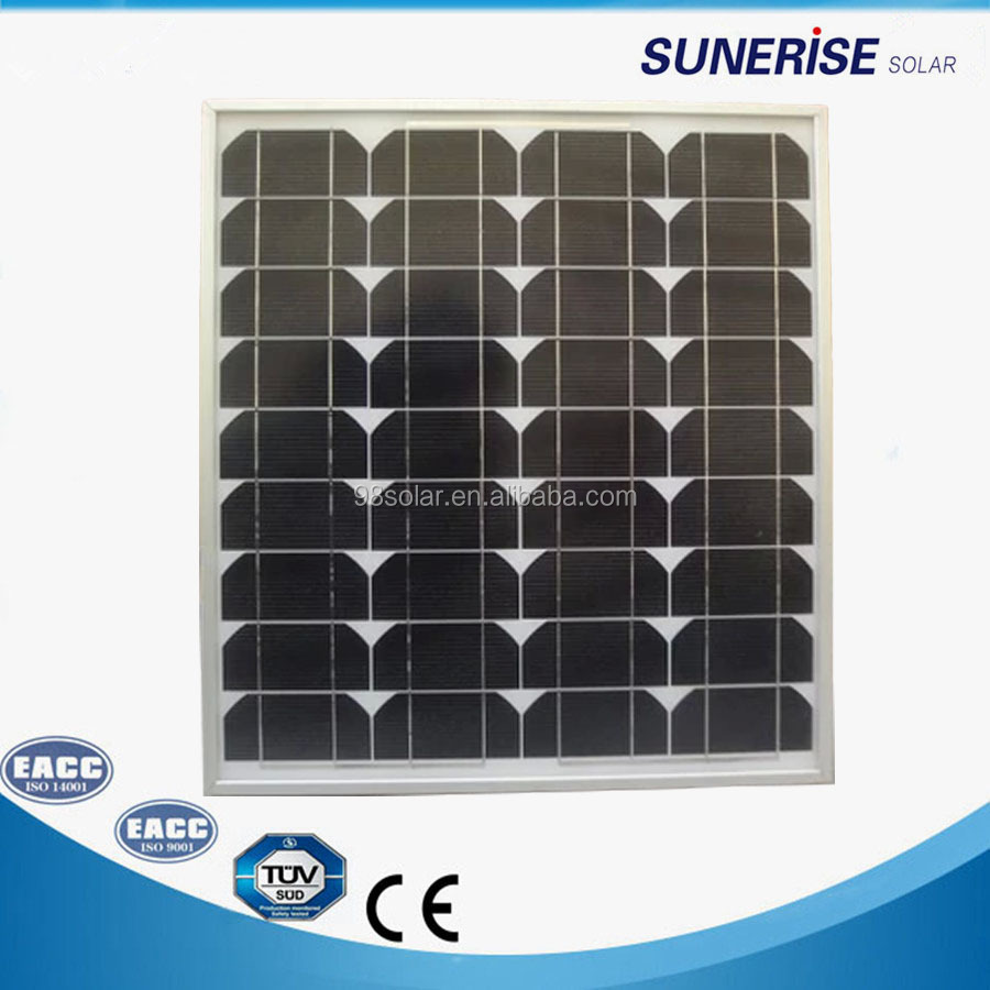 cheap 40watt photovoltaic suntech solar powered advertising system panel