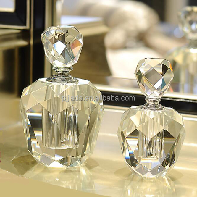 5ml glass spray perfume bottles trendy style custom made crystal glass perfume bottle