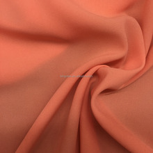 China suppliers wholesale 100%poly Arab robes Imitation linen like chiffon fabric
