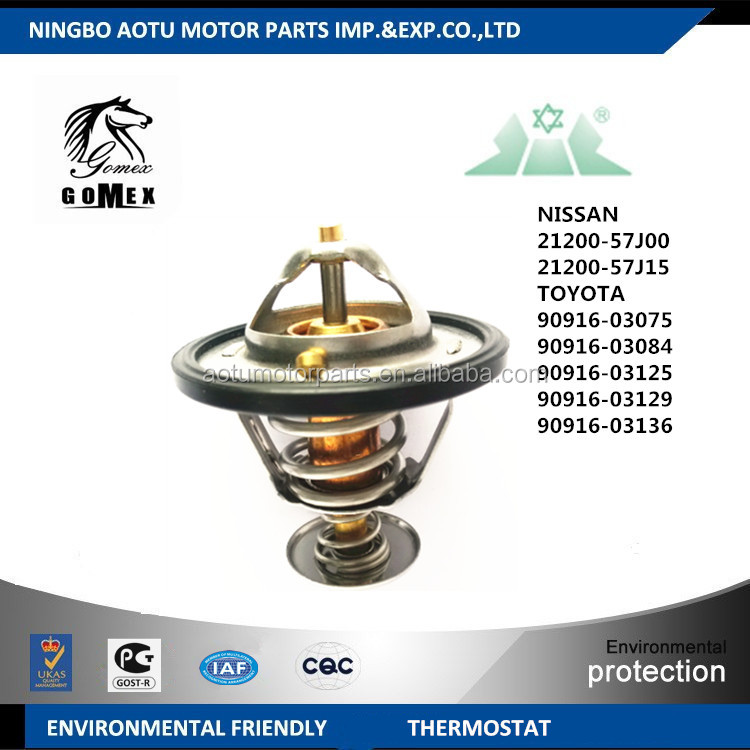 auto cooling system parts thermostat 90916-03125 30875350 30874021 75231 90916-03129 90916-A3003 90916-A3001 for VOLVO