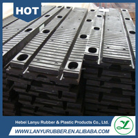 valcanized elastomeric rubber bridge expansion joint for highway