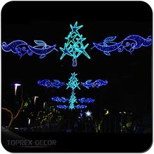 Light up christmas gift boxes wire frame horse christmas christmas led street light motif