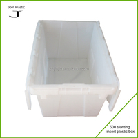 large plastic containers storage for retail