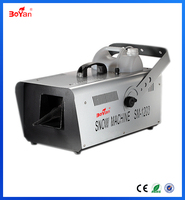 1200W Snow machine DMX512 for Stage Special Effects