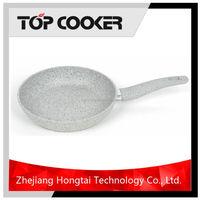 Different color forged non stick stone fry pan