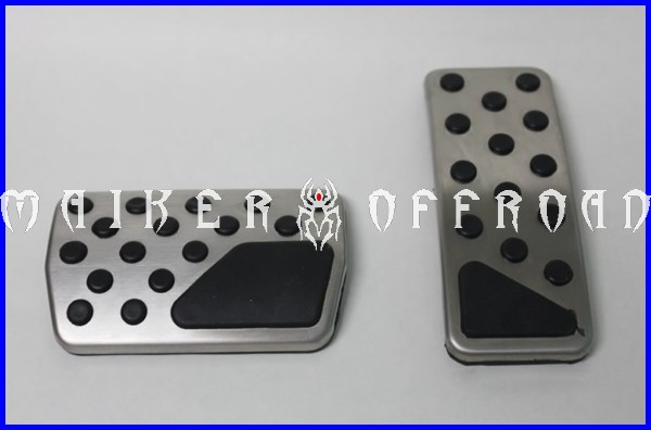 Car Automatic Stainless Steel AT Metal Pedal For Jeep grand cherokee Car Accessories Gas Brake Metal Pedal Covers For JEEP