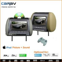 New design headrest touch screen monitor with DVD player for car