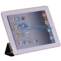Fancy Two-tone Sleep& Wake-up Function Smart Cover For iPad 2