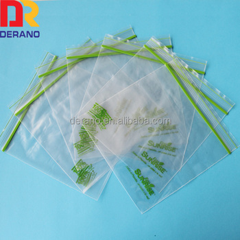 Custom Storage Biodegradable Ziplock Bag