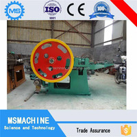 ISO Certificates used automatic common iron nail making machine price